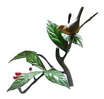 Интерьерная композиция птичка на