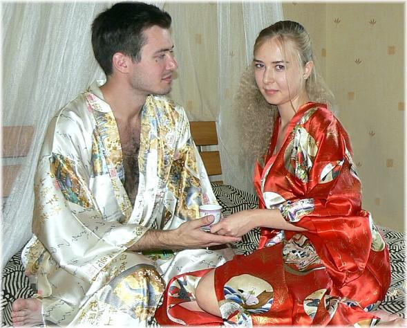 японское кимоно -  стильный подарок и эксклюзивная одежда для дома
